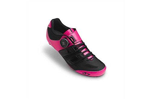 Giro Raes Techlace 17 Rennradschuhe Damen Pink/Schwarz, 38