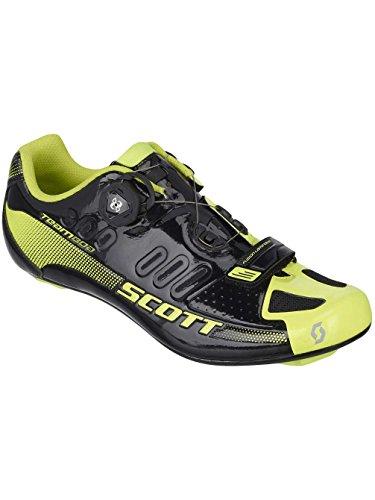 Scott Road Team Boa Rennrad Fahrrad Schuhe schwarz/gelb 2016: Größe: 41