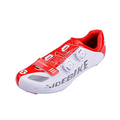 Herren Profi Radsportschuh Rennradschuhe Unisex-Erwachsene Radschuhe Schuhe (EU Größe 44 (Schuhlänge  280mm))