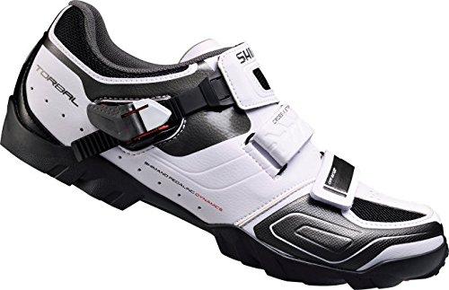 Shimano SH-M089W, Unisex-Erwachsene Radsportschuhe – Rennrad, Weiß (White), 45 EU