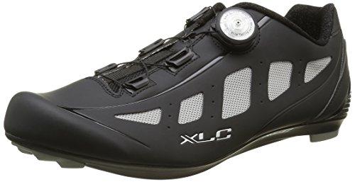 XLC Erwachsene Pro Road Shoes CB R06, Schwarz/Grau, 45, 2500086700