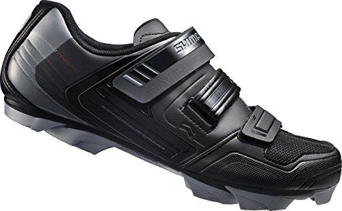 Shimano E-SHXC31L, Unisex-Erwachsene Radsportschuhe – Rennrad, Schwarz (Black), 41 EU
