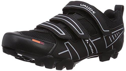 VAUDE Exire Active RC, Unisex-Erwachsene Radsportschuhe – Rennrad, Schwarz (black/silver), 42 EU (8 UK)