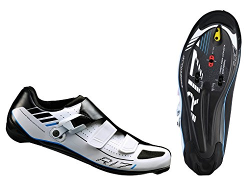 Fahrrad Rennrad Schuhe Shimano SPD SH-R 171 W Gr. 45 weiß