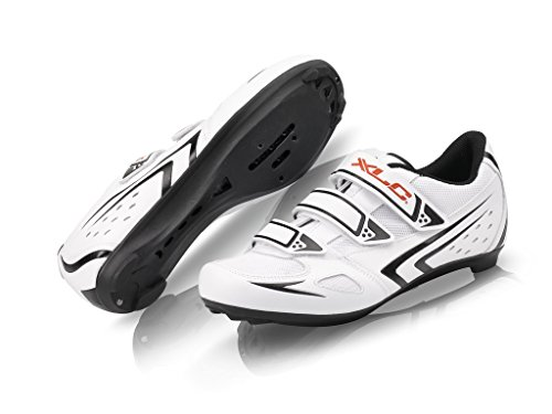 XLC Erwachsene Road-Shoes CB-R04, Weiß, 45, 2500080700