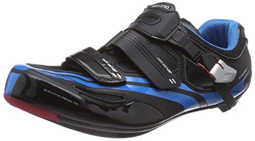 Shimano E-SHR107L, Unisex-Erwachsene Radsportschuhe – Rennrad, Schwarz (Black), 42 EU